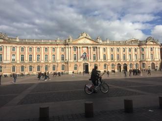 Toulouse city center.