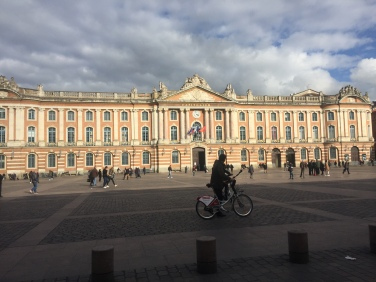 Toulouse city center.