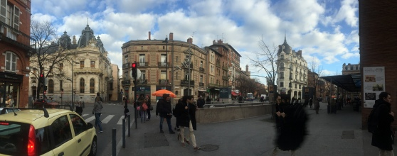 Toulouse panorama.