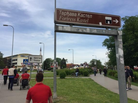 Bosnian sign.