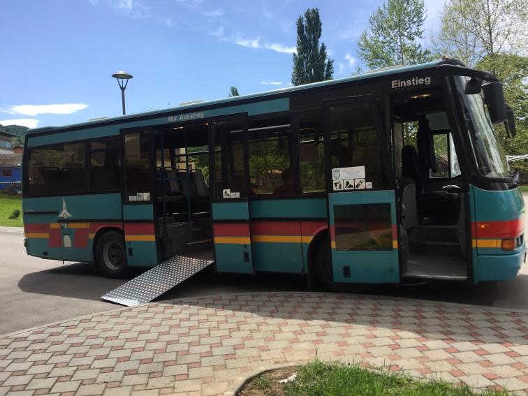 Bosnian bus.