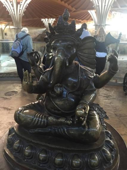 Elephant peace.